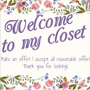⭐️ Welcome to My Closet, All offers considered! ⭐️